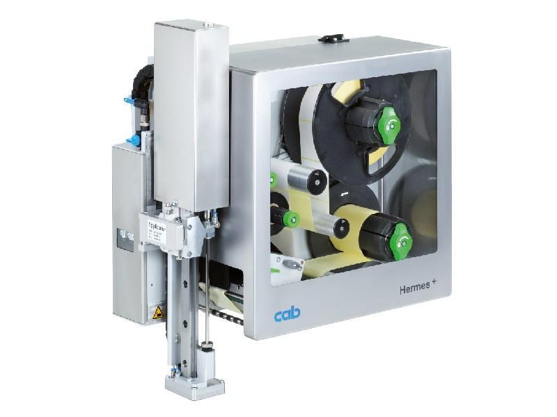 Impressora aplicadora de etiquetas CAB Hermes+