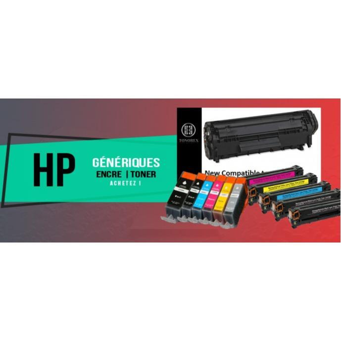 Cartouches d'encre compatibles HP