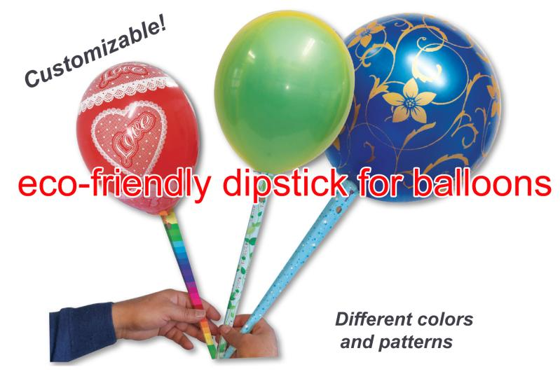 """ECOSTICK""- Ecological stick for balloons"