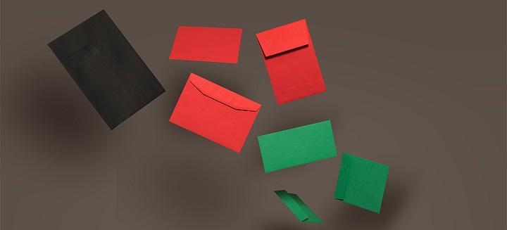 Creative Colour envelopes