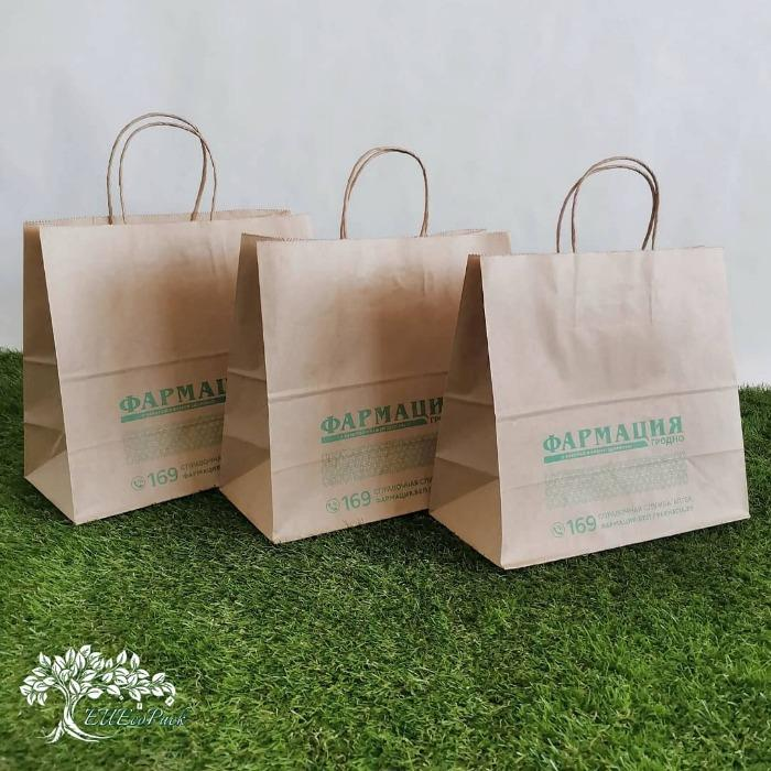 Paper bags kraft with logo