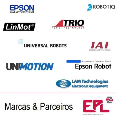 EPSON, EPSON Robot, ROBOTIQ, TRIO MOTION TECHNOLOGY, LINMOT, UNIVERSAL ROBOTS, UNIMOTION, IAI Quality & Innovation, LAM Technologies