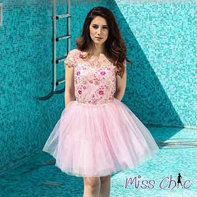 Unique dress from collection Summer 2017 of Miss Chic. Find more @ www.en.misschic.eu.com