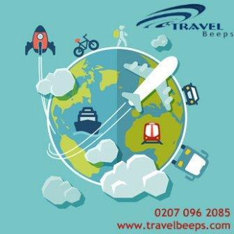 Get your bags packed and enjoy your vacations. Book your Flights with Travel Beeps at best prices.