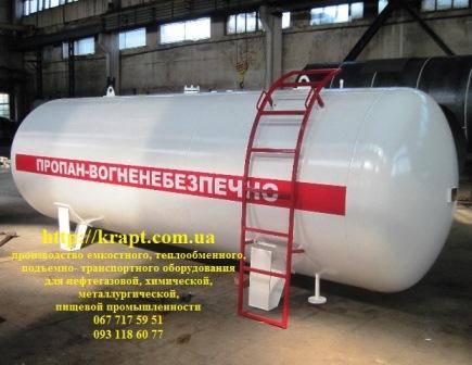 Tanker, container for liquefied gas