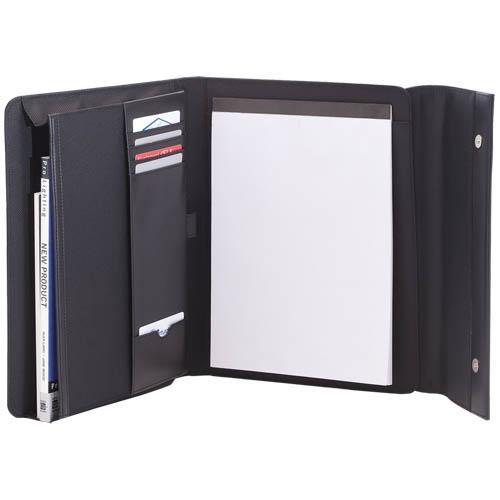 Carpeta de Microfibra + Polipiel - Bloc de 20 Hojas - Medidas: 27 cm x 33 cm x 2,5 cm - Peso: 610 gr