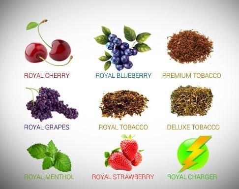 e liquid  for e cig  with various flavors