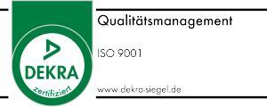 Logo DEKRA ISO 9001