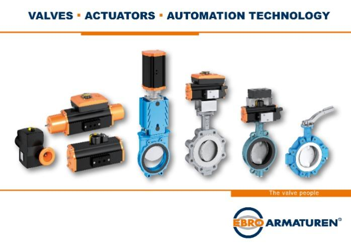 Our broad range of products includes valves, actuators and automation technology