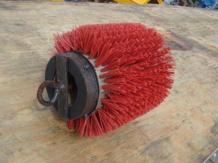 Pipe-brushes are used to clean the inside of a pipe.