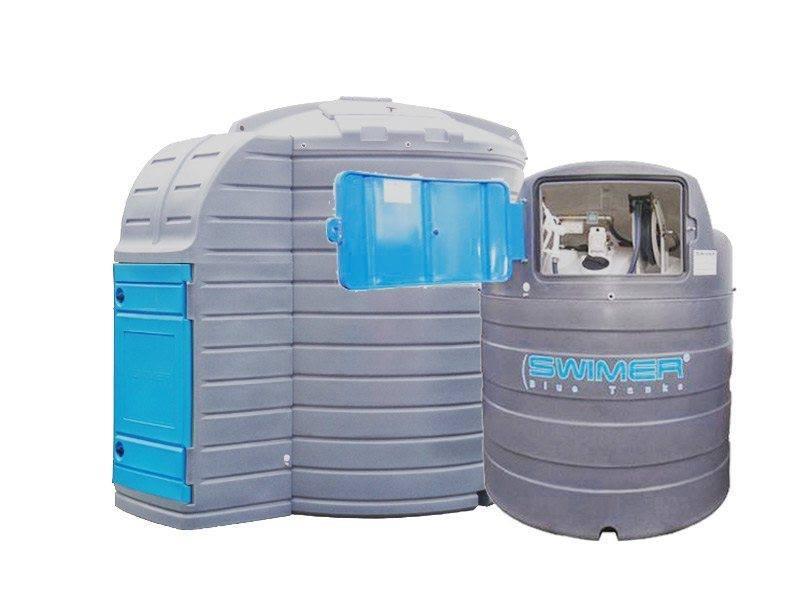 Swimer Blue Tank 10000l and 2500l