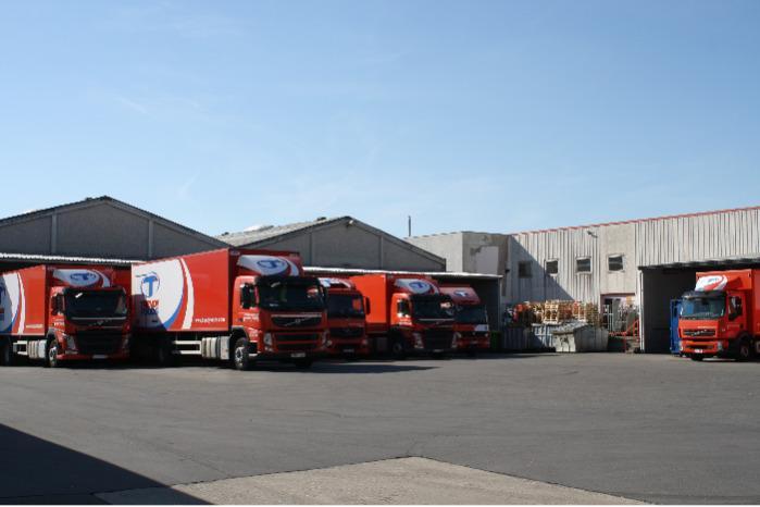 Nos camions pour une livraison en J+1