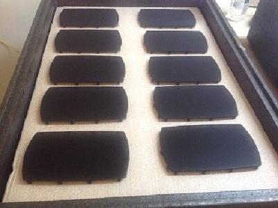 Car speakers manual assembly - foam gluing