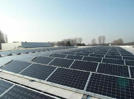 L'une des plus grosses installations photovoltaiques de Wallonie