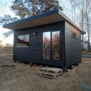 Sauna Box Black
