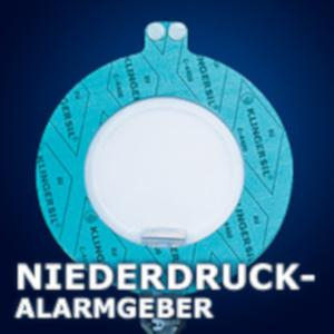 Niederdruck - Alarmgeber