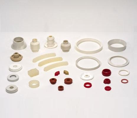 Alcuni articoli tecnici in gomma prodotti da New Rubber