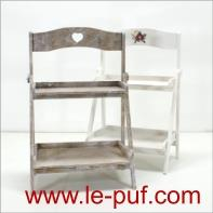 Provence-style wooden+mDF stand