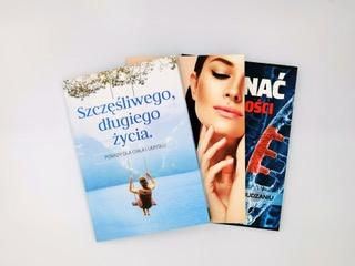 Colorful soft cover books