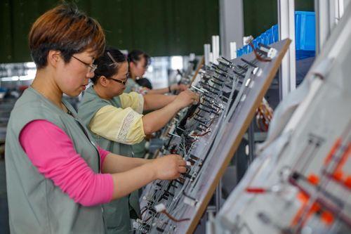 Produktionshalle China