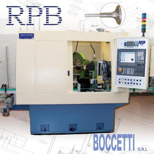 RPB-Rettificatrice profilo valvole motore