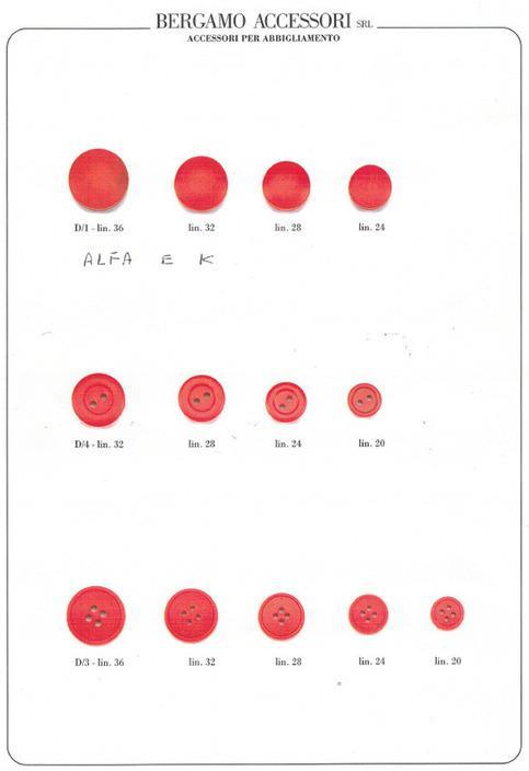 Produzione di Bottoni e Rondelle Colorati