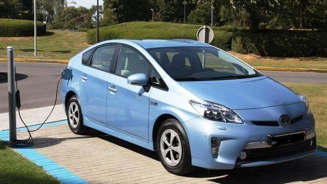 Hybrid Car Athens