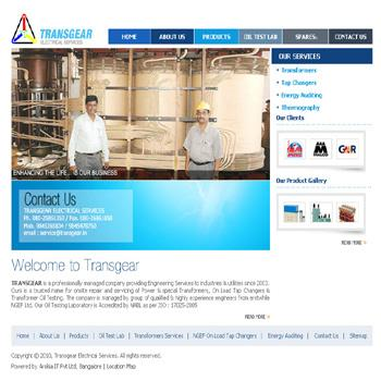 Transgear, Engineering & Electrical Services in Bangalore