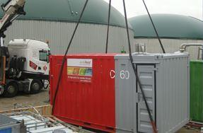 Gasfackeln / Mobile Heizzentralen