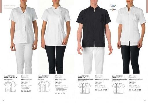 abbigliamento professionale per il settore medicale e studi medici.