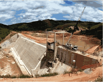 Small Hydroelectric Power Station of Areia Branca - Caratinga - Minas Gerais