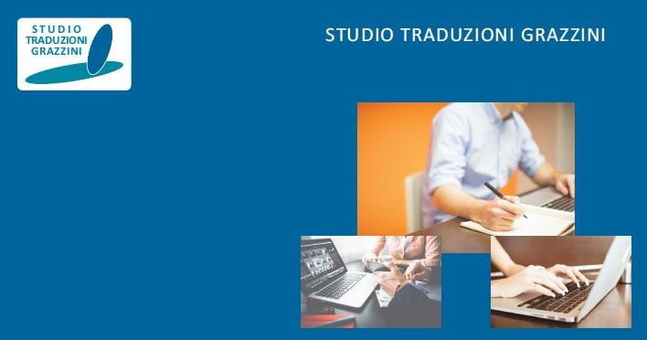 STUDIO TRADUZIONI GRAZZINI is an Italian Translation Agency with an extensive experience in the translation industry. providing high quality translation services in a wide range of fields