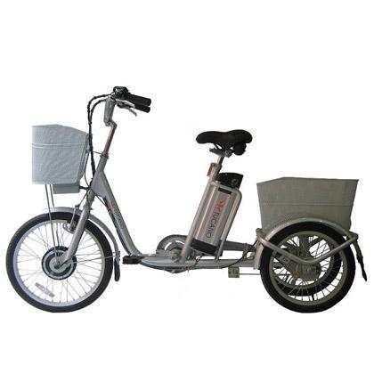 Es un vehículo de tres ruedas de tercera generación ideal para personas que buscan un transporte fácil y cómodo de usar