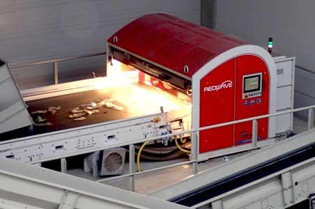 Die REDWAVE Sortiermaschinen gewährleisten durch die leistungsstarke und industrielle Ausführung im gesamten Sortierprozess eine wirtschaftliche und hohe Ausbringungsrate in höchster Reinheit.