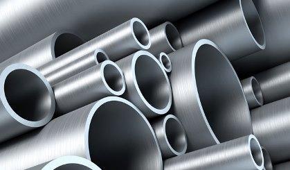 Rundrohre aus Aluminium