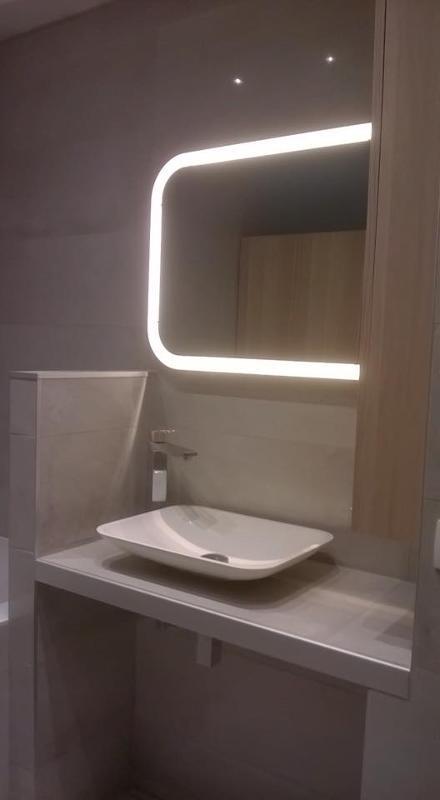 Réalisation de salle de bain moderne