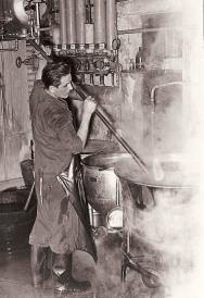 Wäscherei Feucht vor 100 Jahren