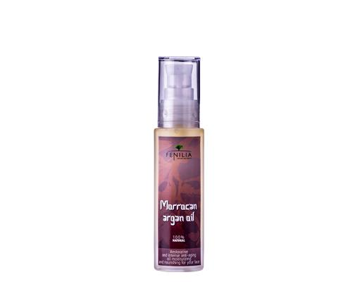 Moroccan argan oil, organic oil Is 100% natural, it provides your skin with essential fatty acids (omega 6 and 9) it needs to fight against the effects of aging. Its high content of vitamin E helps to