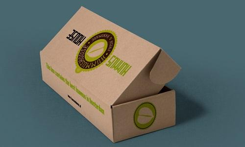 Packaging design for our client de Hummus house.