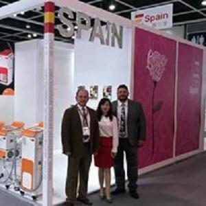 Nuestro equipo y socia en China