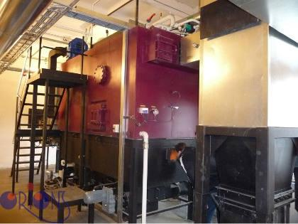 Boiler-houses - own manufacturing !