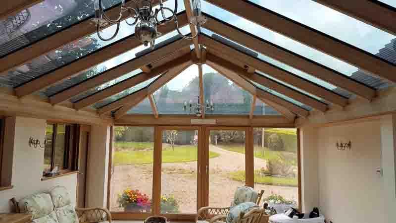 Oak Conservatory Interior