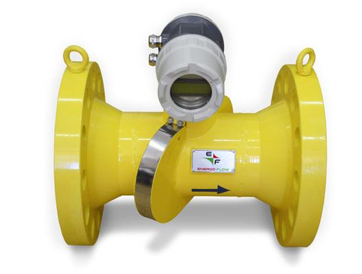4-paths Ultrasonic Gas Flow Meter Energoflow GFE-404 is MID certified specially designed for applications where very high accuracy is required, e.g. for custody transfer measurement of natural gas.