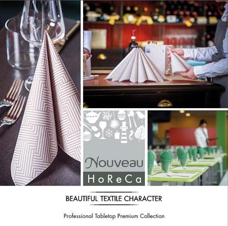 Servietten in verschiedenen Größen und Formaten sowie Einwegtischdecken in Premium Qualität: Tischtuchrollen, Mitteldecken, Tischläufer, Tischsets