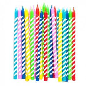 Velas de festas e aniversários