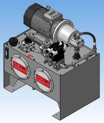 Aggregat - 3D-Darstellung