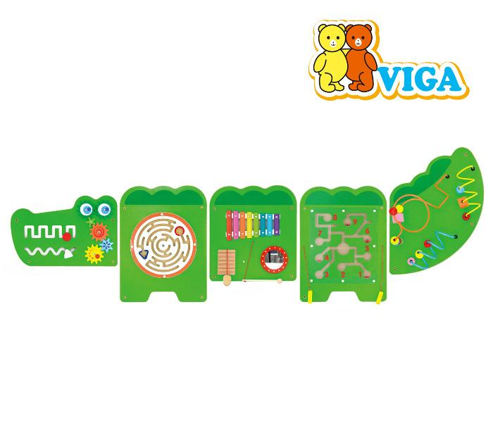 Viga Crocodile Educational Board