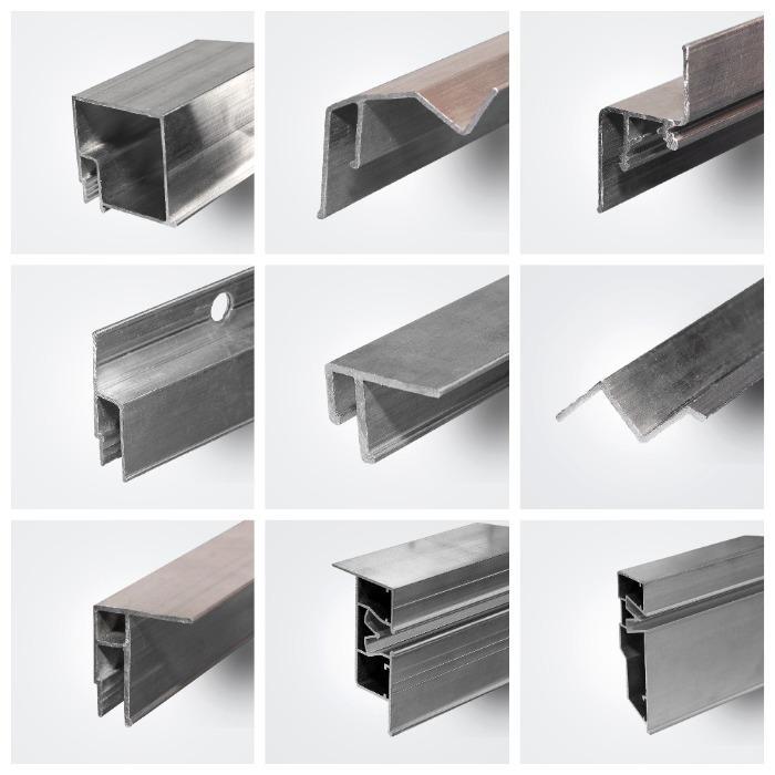 ALU profiles for stretch ceilings