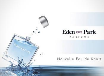 MP2 Cosmetic Solutions a accompagné le développement de la ligne Eau de Sport EDEN PARK.