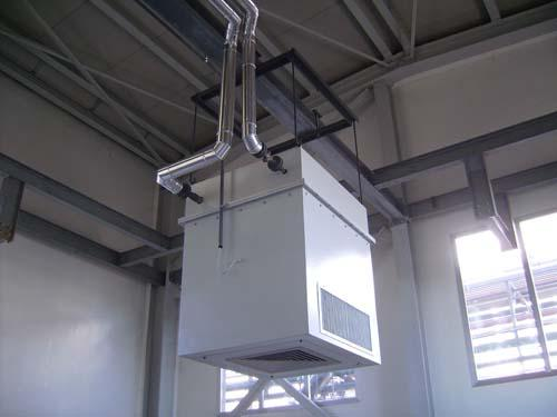Thermofiltration unit for pharmaceutical department